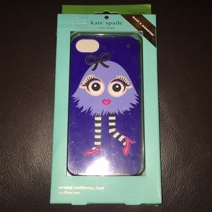 NWT kate spade make your own monster phone case
